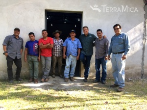 TM La Cayetana church elec project with the group 2015
